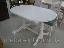 Деревянный стол Гирне-4, цвет Пирти (Слоновая кость), фото 2