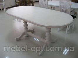 Деревянный стол Гирне-4, цвет Пирти (Слоновая кость)