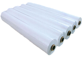 Пленка тепличная прозрачная белая полиэтиленовая Планета Пластик 3000рукав*110мкр*50м