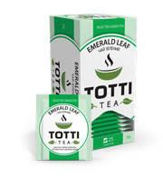 Чай зеленый пакетированный Emerald Leaf «Изумрудный Лист»