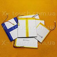 Аккумулятор, батарея для планшета 3700 mAh, 3,7 V, 39x70x125 мм