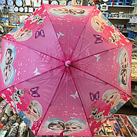 """Детский зонт трость Star Rain """"Холодное сердце 5"""" полуавтомат, 8 спиц , фото 1"""
