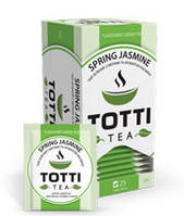 Чай зеленый пакетированный Spring Jasmine «Весенний Жасмин»