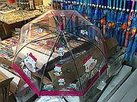 """Детский зонт трость Star Rain """"Белая кошка"""" полуавтомат, 8 спиц, фото 1"""