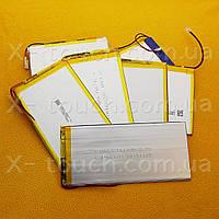 Аккумулятор, батарея для планшета 4400 mAh, 3,7 V, 30x70x147 мм