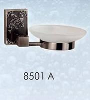 Мыльница навесная стеклянная BADICO PREMIUM 8501 А antic black