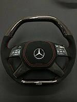 Руль Mercedes w463 Brabus Carbon Алькантара, фото 1