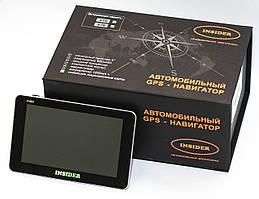 "Навигатор GPS INSIDER F1 5"""