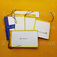 Аккумулятор, батарея для планшета 4500 mAh, 3,7 V, 37x66x125 мм
