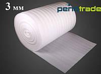 Вспененный полиэтилен для упаковки и подложки 3 мм