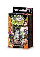 Чехол для мобильного телефона раскраска Anti Stress - набор для креативного творчества от Danko Toys(жираф)