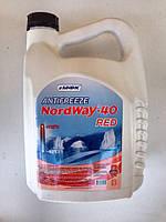 "Антифриз ""Antifreeze NordWay-40 TM ""NordWay"" Red 5 кг"