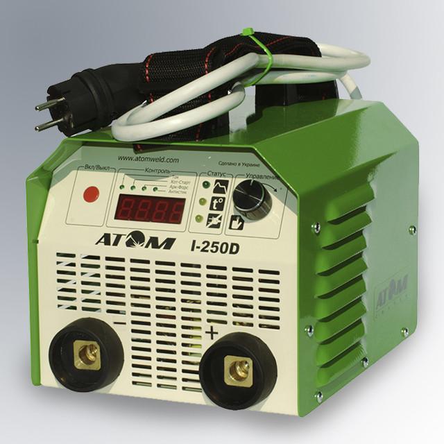 Атом I-250D, профессиональный сварочный инвертор