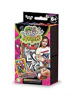 Чехол для мобильного телефона раскраска Anti Stress - набор для креативного творчества от Danko Toys(люборь)