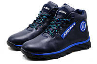 Кожанные мужские зимние ботинки  Jordan жордан