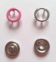 Кнопка 9,5 мм матовая № 6 - малина