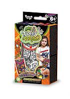 Чехол для мобильного телефона раскраска Anti Stress - набор для креативного творчества от Danko Toys(совы)