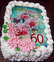 Вафельные съедобные картинки на торт