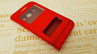 Кожаный чехол книжка Momax для Samsung Core I8262 / I8260 красный