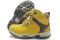 Ботинки детские Goll зимние желтые 32-37р.