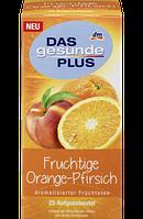 Органический чай Das gesunde Plus Fruchtige Orange-Pfirsich