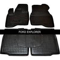 Коврики в салон Avto Gumm 11454 для Ford Explorer 2014-