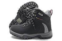Ботинки детские Goll зимние черные 32-37р.