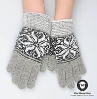 Шерстяные перчатки, перчатки из ангорки, фото 1