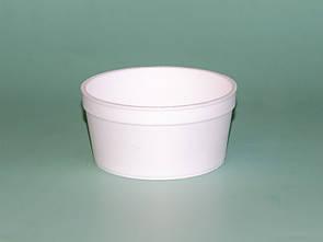 Супник из вспененного полистирола с крышкой, 240 мл