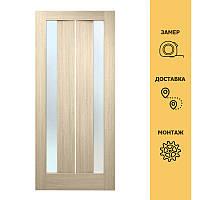 Двери межкомнатные Стелла ПВХ (стекло сатин)
