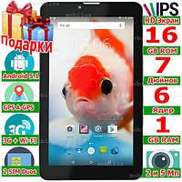 2 sim Смартфон Планшет LENOVO TAB 7 HD 7 дюймов 3G ОЗУ 1 Гб Rom 16 Гб 2 сим 3000 mAh Android 5 1 GPS Подарки