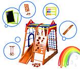 Детский спортивный комплекс для дома «Замок», фото 3