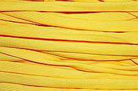 Шнур плоский 15мм (100м) желтый , фото 1