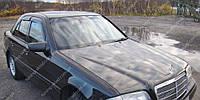 Ветровики окон Мерседес С-класс W202 (дефлекторы боковых окон Mercedes-Benz C-Klasse W202)