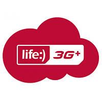 Стартовые пакеты Life 60 3g+ свобода включающий 750 минут звонков на все направления для смартфона планшета
