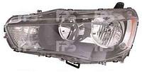 Фара правая электрическая HB3+HB4 для Mitsubishi Outlander XL 10-12, производства DEPO