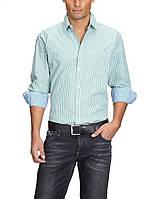 Мужская рубашка в полоску с длинными рукавами от Tom Tailor в размере М