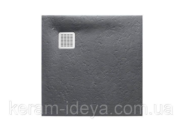 Поддон Roca Terran 900x900 графит AP0338438401200
