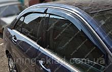 Ветровики окон Мерседес С-Класс W204 (дефлекторы боковых окон Mercedes-Benz C-Klasse W204)