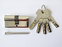 Цилиндр 060.67 цвет никель 60мм,(30х30) ключ/ключ