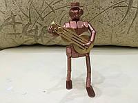 Гитарист. Статуэтка. Стиль - стимпанк