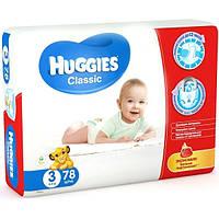 Подгузники Huggies Классические 3 Мега 78 шт.