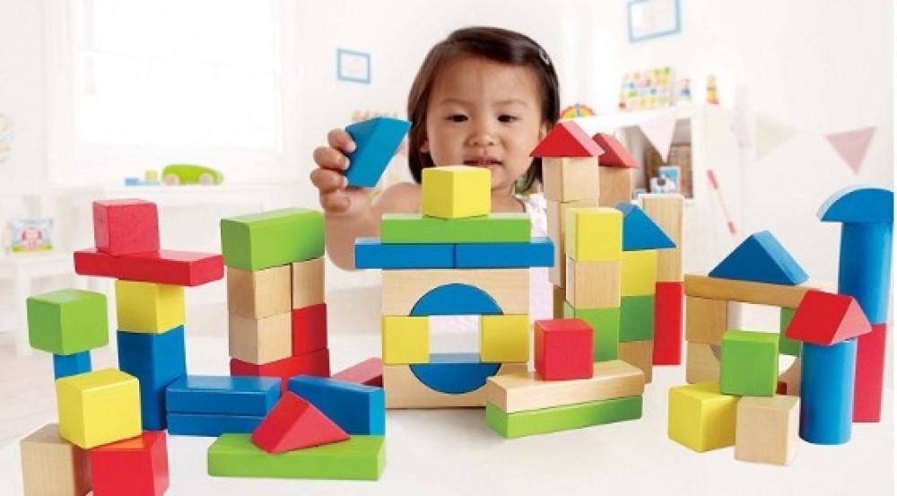 Конструктор детский 100 детелей