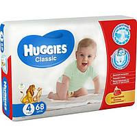 Подгузники Huggies Классические 4 Мега 68 шт.