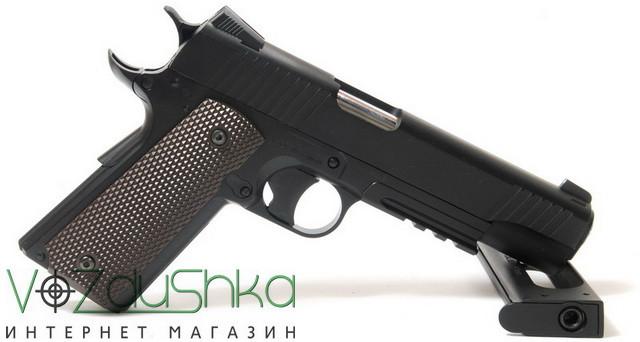 пневматический пистолет colt kwc
