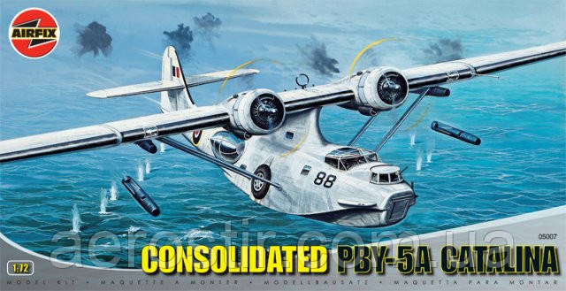 Consolidater PBY-5A CATALINA 1/72 AIRFIX 05007