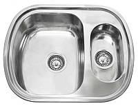 Platinum Кухонная стальная мойка Platinum 60 x 49D декор