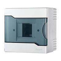 Бокс с прозрачной крышкой ЩРН-П-4 для наружной установки 4-х модульных устройств (арт. 730-2000-004)