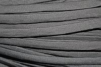Шнур плоский 15мм (100м) т.серый , фото 1