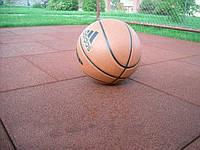 Мягкое покрытие для спортивной площадки. Резиновая плитка, 30 мм, фото 1